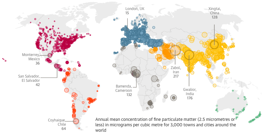 Air Pollution Rising At An Alarming Rate In World S