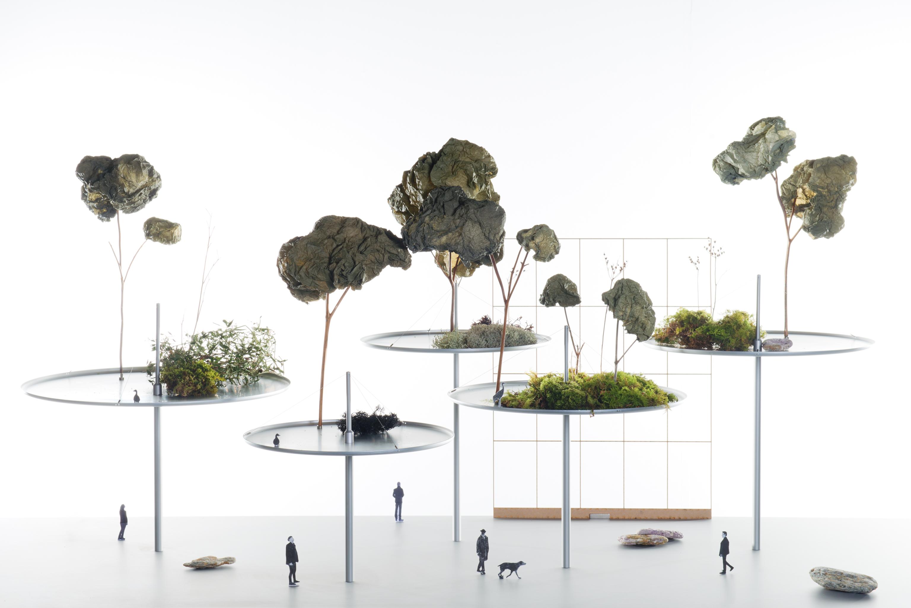 "Ronan & Erwan Bouroullec urban daydreaming"" - exhibition by french designers ronan"