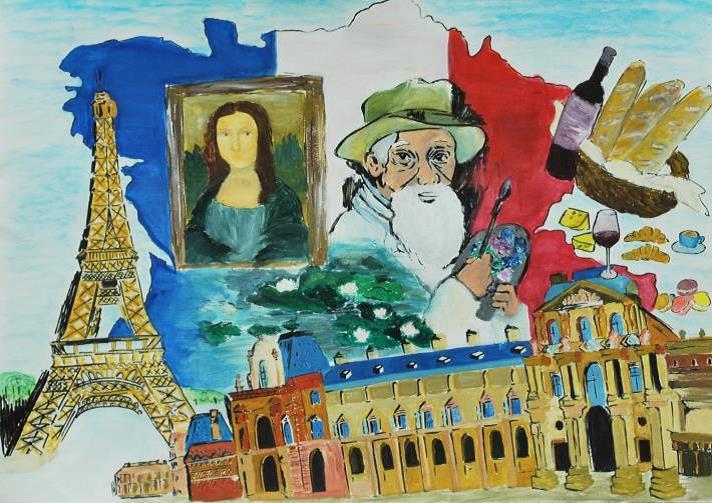 La france parmi les gagnants du concours de dessins organisé par lue consulat général de france à hong kong et macao