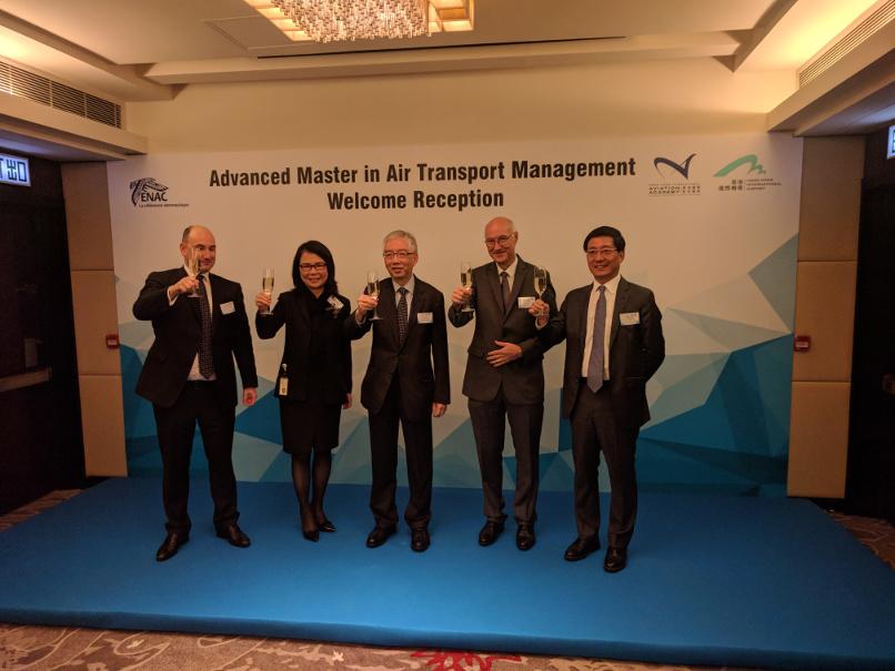ENAC and Hong Kong International Aviation Academy (HKIAA