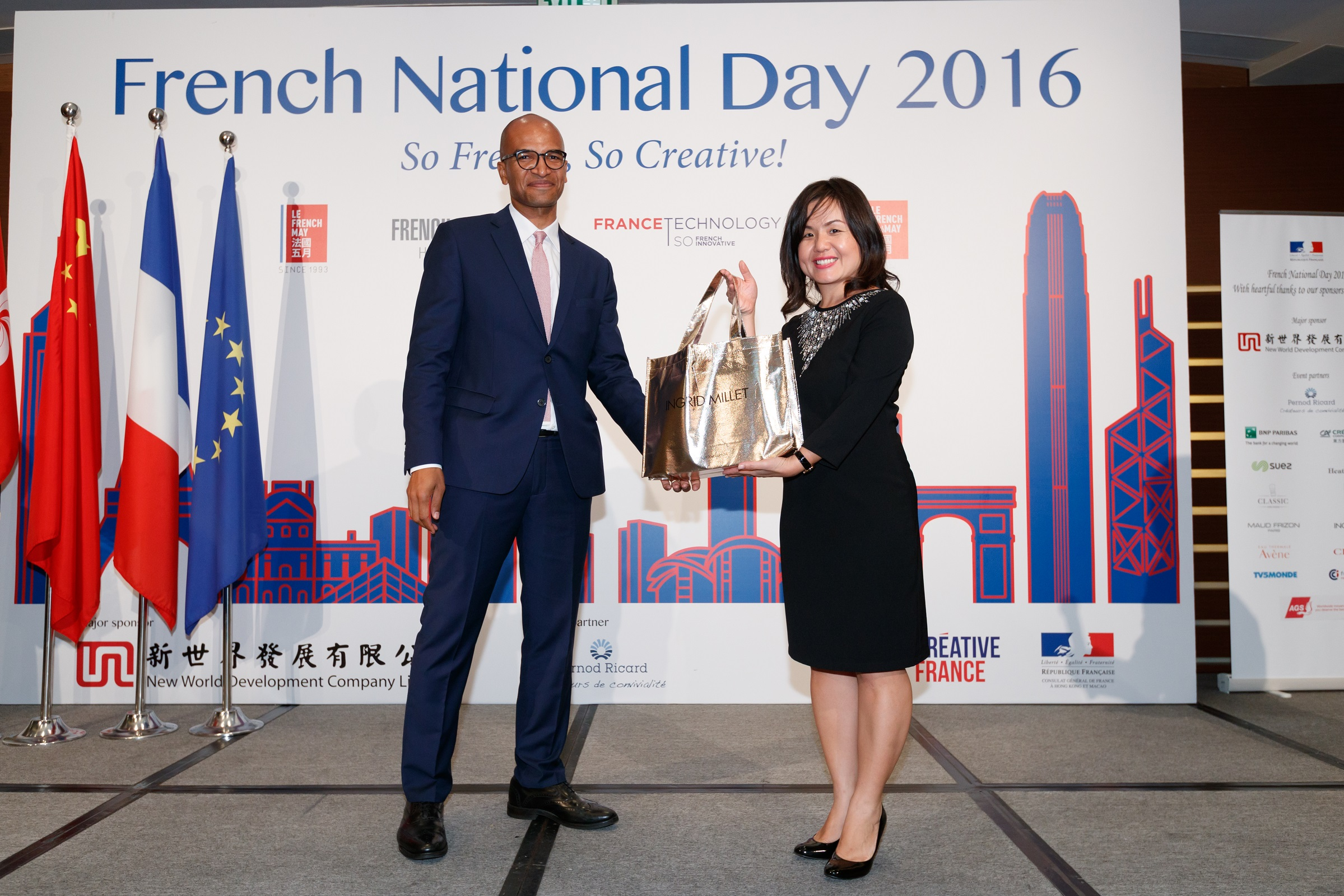 Bastille day 2016 official reception in hong kong for Chambre commerce hong kong