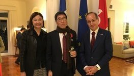 Prof. Way KUO of the City University of Hong Kong honoured as Chevalier de (...)
